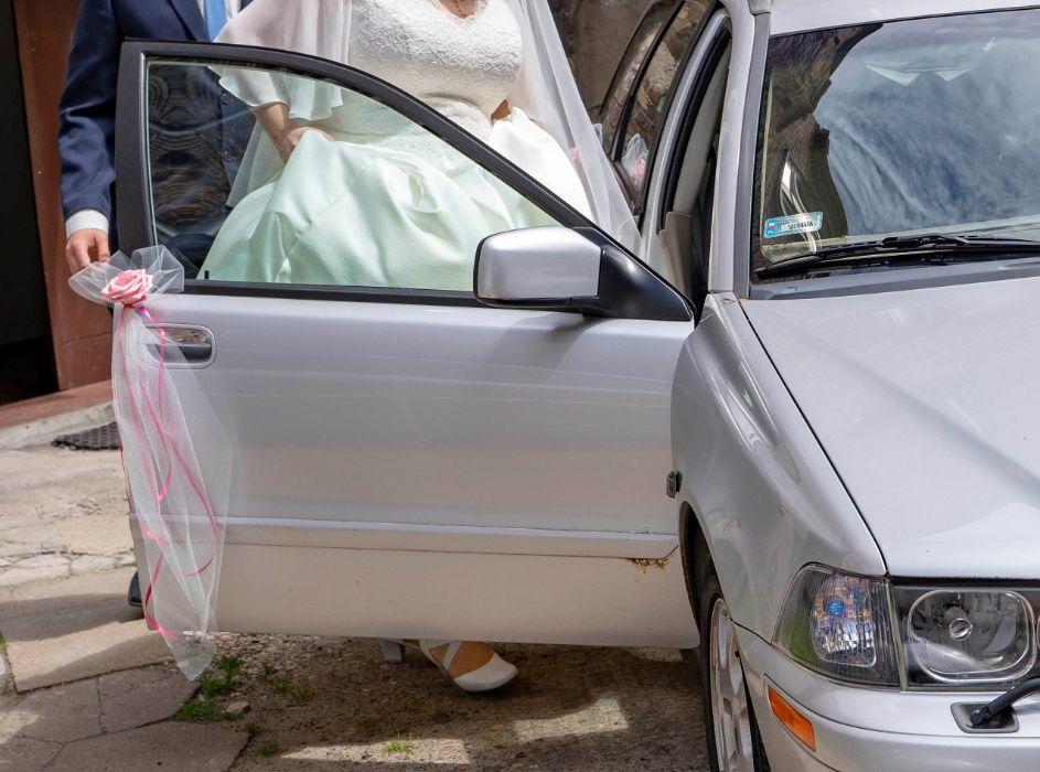 Dekoracje ślubne - stroiki do samochodu na drzwi Chorzów - image 1