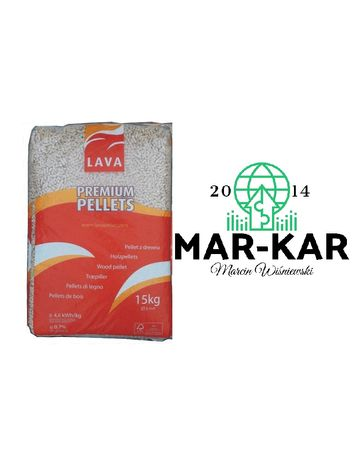 LAVA Pellet drzewny 100% sosna najniższa cena