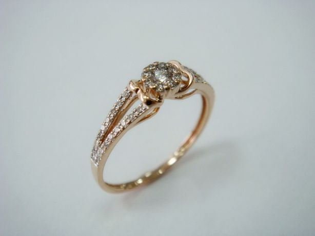 Кольцо золотое с бриллиантами (арт. 5571)