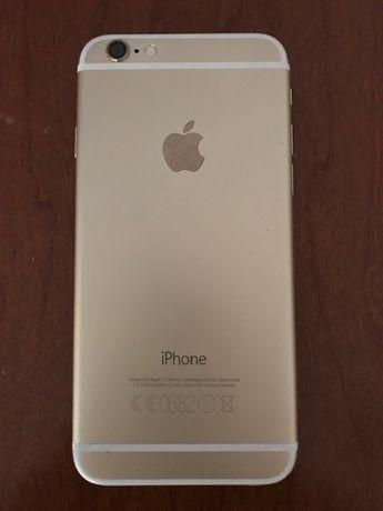 Chassi iPhone 6 gold com peças