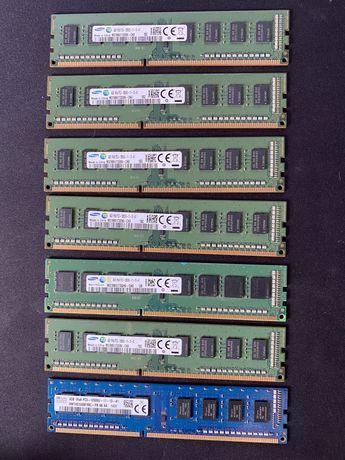 7 DIMMS   DDR 3 4 GB PC3 1280
