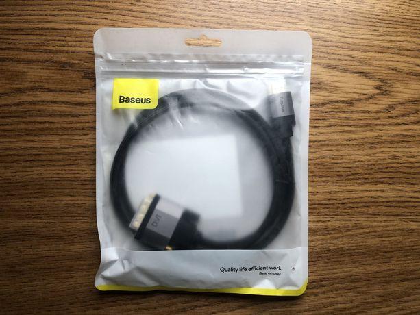 Baseus Kabel przewód DVI HDMI 1M dwustronny 4K