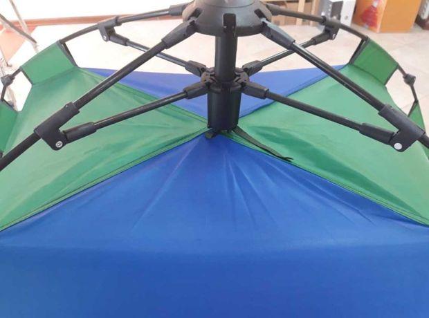 Недорогие автоматические палатки 2х, 4х, 6ти местные, разных цветов