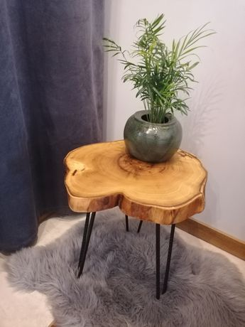 Stolik drewniany, PROMOCJA! plaster, stół, drewno, kawowy, nocny