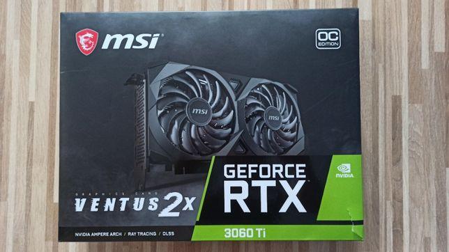 Karta graficzna MSI GeForce RTX 3060 Ti Ventus 2X OC 8GB