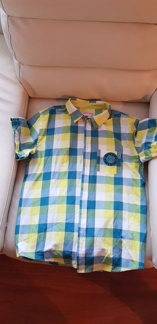 Koszula z krótkim rękawem rozmiar 158