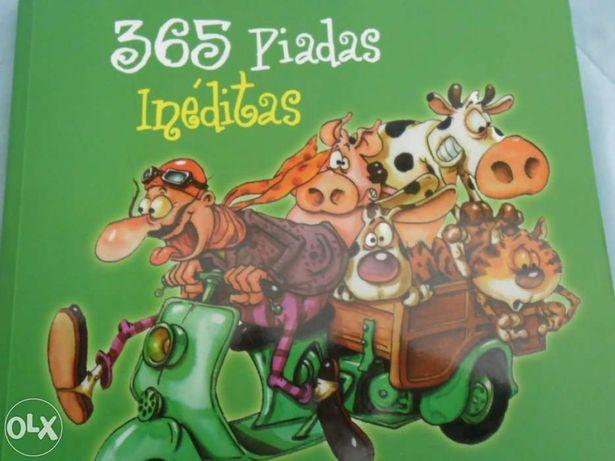 """Livro """"365 Piadas Inéditas"""""""