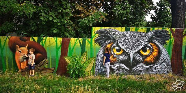 Malowanie Artystyczne,Graffiti,Malowanie pokoju,Mural,Murale,Reklama