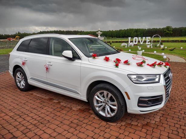 Wynajem samochodów Premium. Samochód do ślubu, Audi Q7, Audi A5