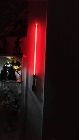 Suporte de Lightsaber, Sabre star wars para parede