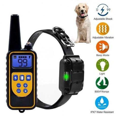 Coleira Adestramento / Treino Cães / anti latido / Recarregável NovO