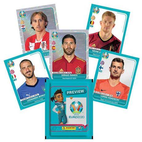 Pack de 72 cromos Euro2020 Preview - Panini
