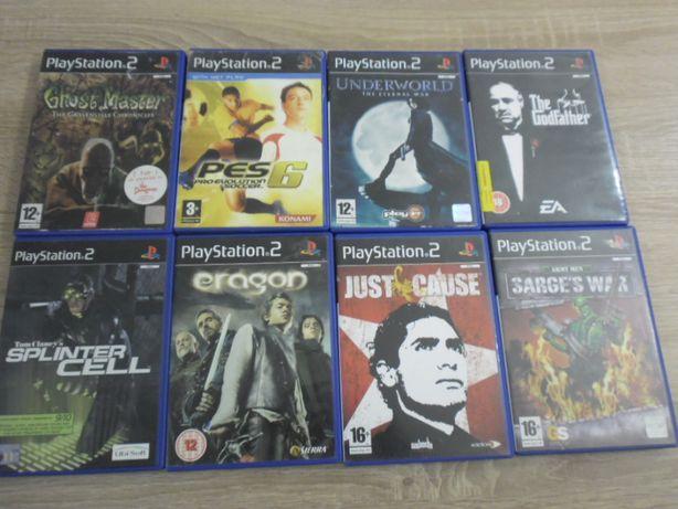 Pakiet gier na Playstation 2.