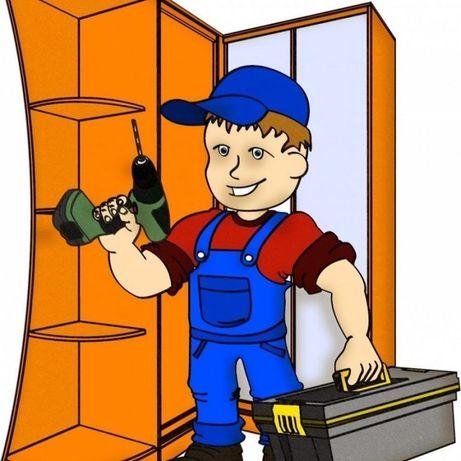 Услуги сборщика мебели. Быстро, качественно