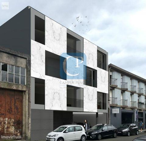 Apartamento T2 em Construção na zona histórica