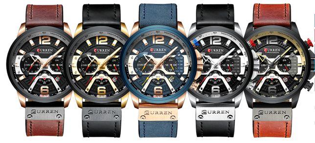 Премиальные Мужские наручные часы CURREN (Новые, оригинал)