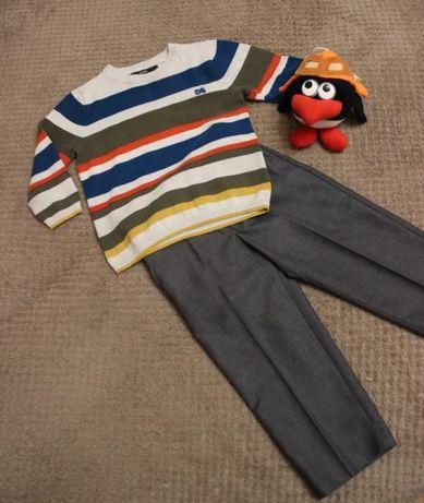 Комплект, брюки и свитер George NEXTна 2-3 года