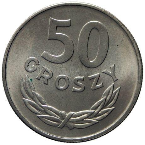 50 groszy - okres PRL-lu