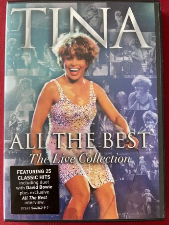 Tina Turner All the Best dvd