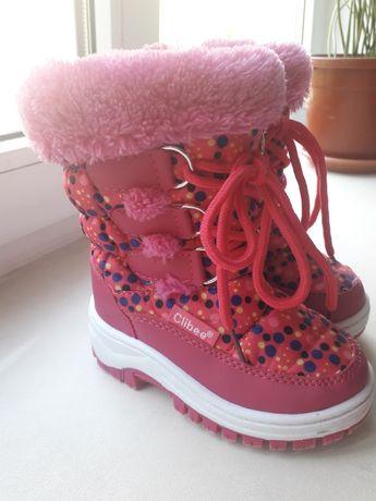 Зимнии сапожки для девочки