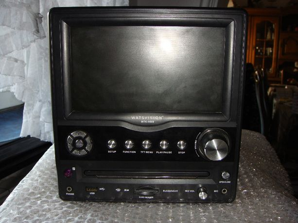 DVD / CD - Odtwarzacz Z Monitorem