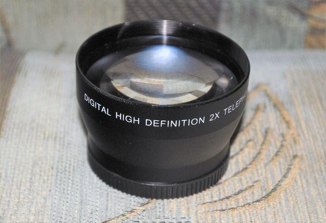 Telekonnwerter przedluzacz obiektywu 52mm-2x