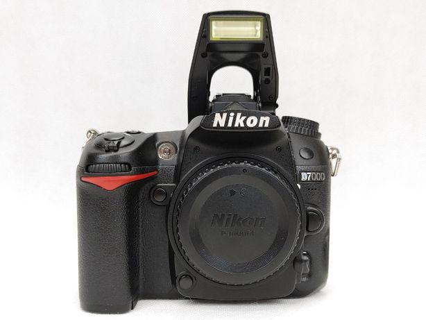 Aparat Nikon D7000 + dużo dodatków - super stan - tylko 36 tys zdjęć
