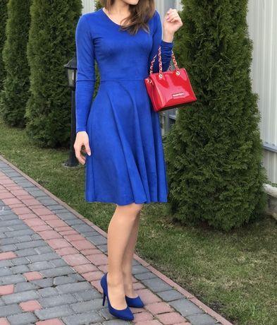 Синя брендова сукня Vovk розмір хс-с Чудовий стан