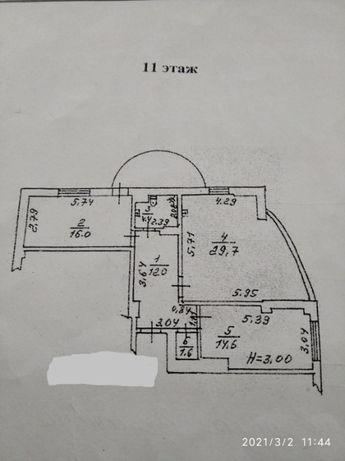 Продам 2 Комн. на Базарной в Капитане , кап ремонт КЕ)