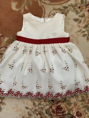 Плаття для дівчинки нарядне сукня дитяча на 1 рік