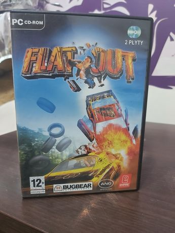 Flat Out Angielska wersja językowa PC gra
