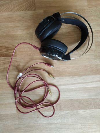 Słuchawki Hykker Scorpion 2x jack 3,5mm mikrofon, PC, PS4