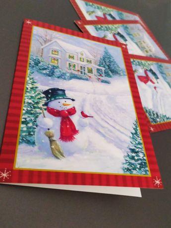 Новогодние открытки Hallmark из США поздравительные открытки