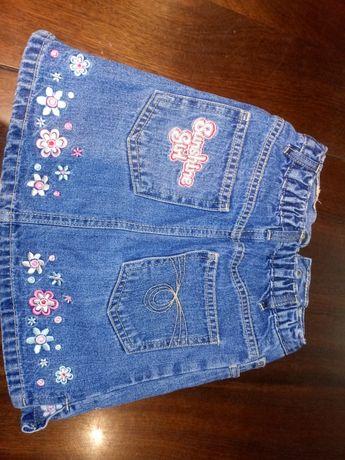 Spódniczki 92 jeans sztruks