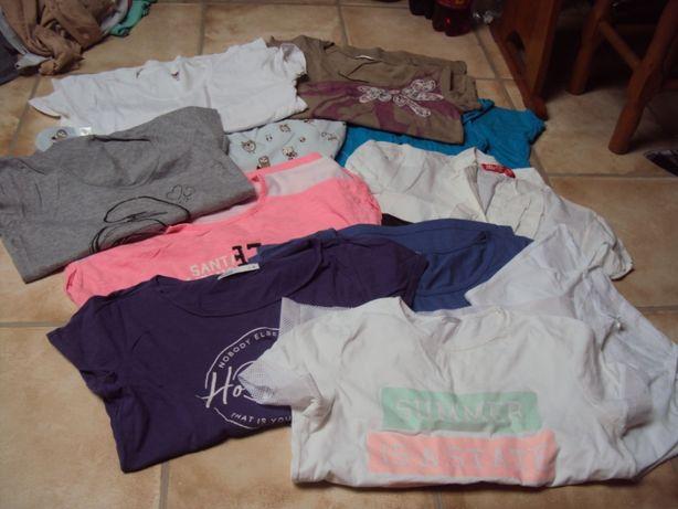 Koszulki tshirt house cropp pepco 164 xs/s paka 40 zł