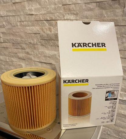 Karcher wkład filtracyjny cartridge 6.414-552.0 Filtr wd2 wd3 oryginal