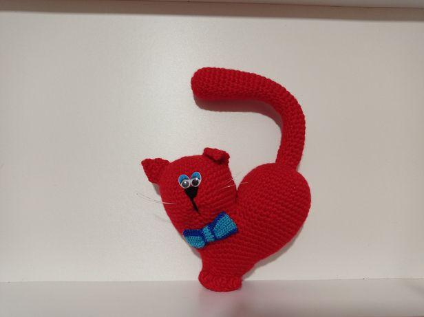 Кото-сердце мягкая игрушка