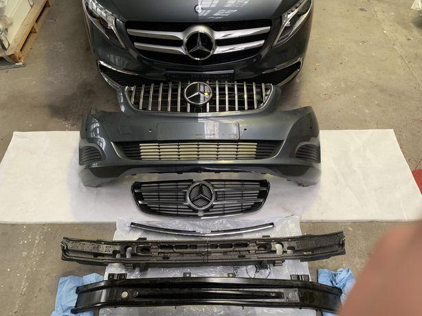 Zderzak V klasa Vito Mercedes W447 atrapa grill perfekcyjny jak nowy