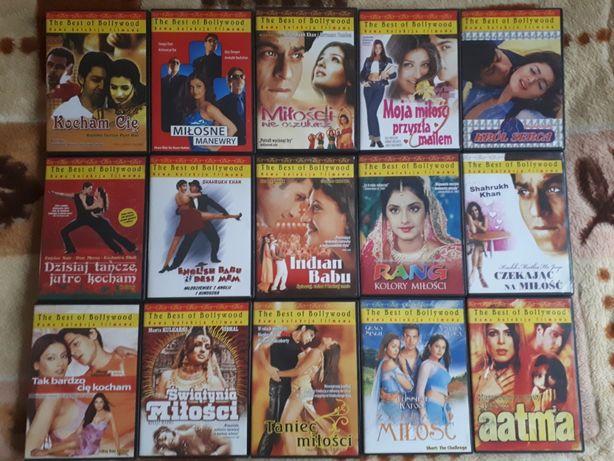 Bollywood DVD - mega zestaw filmów (61 szt.)