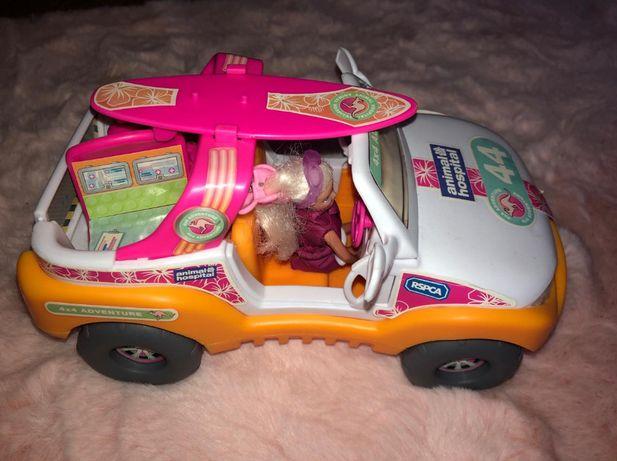 Weterynarz lalka z samochodem zwierzatkiem i akcesoriami