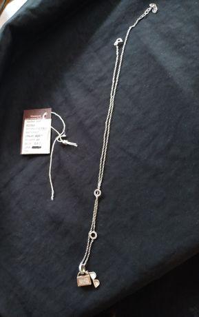 Цепочка с подвеской серебро 925