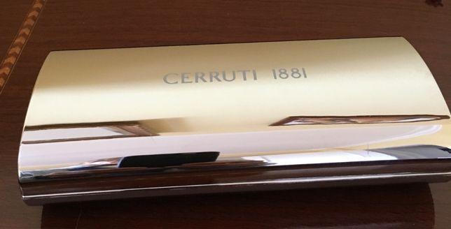 Estojo caneta e esferográfica CERRUTI 1881