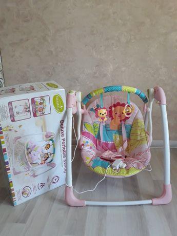 Укачивающий центр, детское кресло качалка, качель, шезлонг