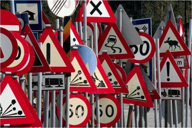 Дорожні знаки. Кріплення