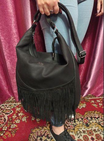 Новая женская сумка с бахромой