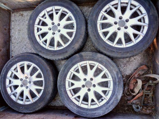 """Alufelgi 17"""" koła zimowe 5x112 Nexen 225/55R17 Audi VW Skoda Mercedes"""