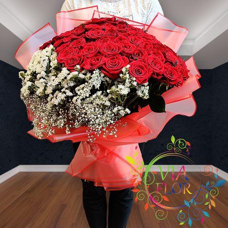 Цветы Харьков - бесплатная доставка букетов от магазина Viaflor
