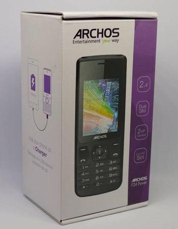 Telefon Archos f24 PowerBank Dual Sim Latarka Bateria 4000mA
