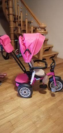 Детский велосипед коляска Speed Rider для девочки