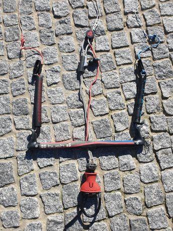 Barra de kitesurf 4 linhas
